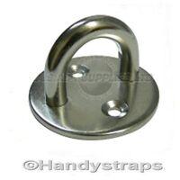 5mm Round eye plates Stainless Steel Marine