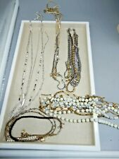 STELLA & DOT necklace LOT OF 5 in boxes - display samples