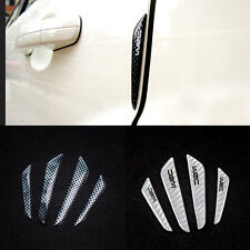 4Pcs Racing Car Accessories Door Protector Anti-Clogging Anti-collision Stickers