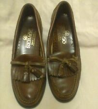 Seabago Tassel Women's Loafers – Brown 8.5 AA Made in USA