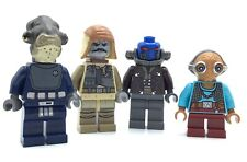 NEW Lego Star Wars SITH MASTER DARTH HARCH ALIEN MINIFIGURE CLONE JEDI TRENCH