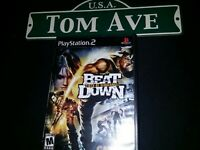 Beat Down: Fists of Vengeance (Sony PlayStation 2, 2005)Complete cib