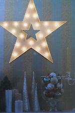 N K D Home 20 S LED Stern weiß, TÜRKRANZ  D T 39 x 4 c m,HÄNGEN STELLEN,Batterie