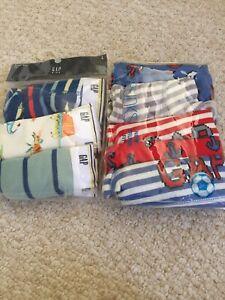 GAP KIDS  2 Packs Boys Boxer Briefs (8 Pairs Total)-size Large