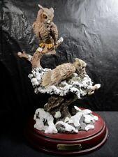 "Bradford Exchange "" Watchful Protectors "" Forrest Sentinels Series Figure"