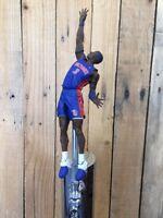 DETROIT PISTONS Tap Handle NBA Basketball Beer Keg Ben Wallace Blue Jersey