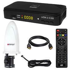 DVB-T/T2 RED Opticum LION 3 HD HEVC H.265HDTV HEVC HDMI USB + Antenne 30db