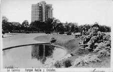 Montevideo Uruguay La Carreta Parque Batlle Ordonez Real Photo Postcard J55645