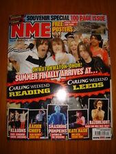 NME 2007 SEP 1 KLAXONS KAISER CHIEFS KATE NASH KANO