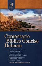 Comentario Biblico Conciso Holman (2011, Hardcover, New Edition)