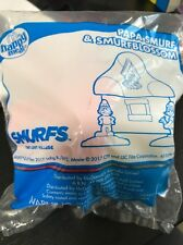 mcdonalds happy meal Toys Smurfs Papa Smurf & Smurfblossom