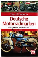 Buch Typenkompass Deutsche Motorradmarken Wichtige kleine Hersteller Band 2