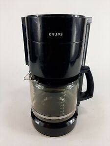 Krups Coffee Maker Type 321A Black 10 Cup