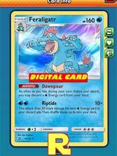 Feraligatr (Dragon Majesty) for Pokemon TCG Online (DIGITAL ptcgo in Game Card)