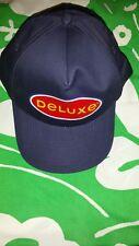MCDONALDS VINTAGE BLUE DELUXE SIGN  HAT