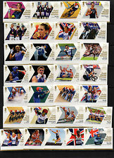 2012 BOTH OLYMPIC (29) + PARALYMPIC (34) SETS COMPLETE AND FREE GIFT SEE BELOW