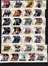 2012 les deux olympiques (29) + paralympiques (34) ensembles complets et cadeau gratuit voir ci-dessous