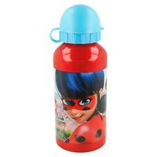 New Design Girls Miraculous Ladybug Aluminium Drinks Sports Water Bottle 400ML