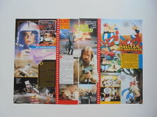 Delta Force Chuck Norris DARYL Asterix Queen Freddie Mercury clippings Germany
