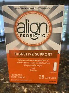 Align Probiotic Supplement 24/7  Support - 28 Capsules Exp: 05/2023