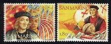 SAN MARINO 2006 COLOMBO-500th BIRTH/EXPLORER/FAMOUS MEN/SHIP/GLOBE/HISTORY