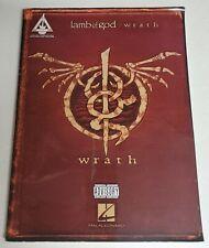 LAMB OF GOD WRATH GUITAR TAB SONGBOOK TABLATURE SHEET MUSIC BOOK