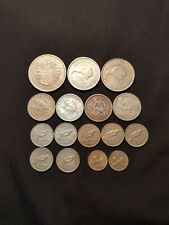 new zealand silver coins(crown,shilling,sixpence,threepence,florins)