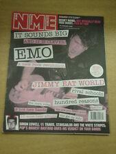 NME 2002 JAN 26 RICHEY MANIC FRED DURST TRAVIS STRIPES