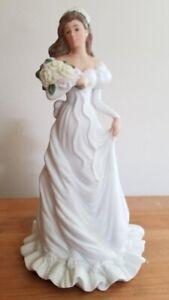 White Bride Wedding Figurine