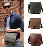 Vintage Style Men's Real Leather Sling Messenger Shoulder Bag Crossbody Satchel
