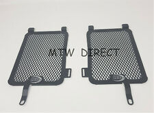 R&G RACING BLACK RADIATOR GUARDS  for BMW R1200GS Adventure (2013-2016)