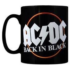 AC/DC Back In Black Premium Tea/tazza da caffè & Ufficiale In Scatola Con Foto