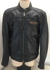 Harley Davidson Men's 105th Anniversary Leather Riding Jacket Large 97105-08VM