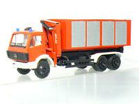 Conrad 3087 - Mercedes Benz Pompier Atlas Conteneurs / Grue de Chargement 1:50