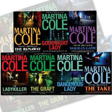 The Lady killer,Dangerous lady,The Graft of Martina Colection 7 Books Set Pack
