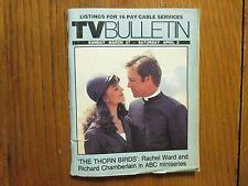 March-1983 Santa Ana TV Bulletin(THE THORN BIRDS/RACHEL WARD/RICHARD CHAMBERLAIN