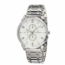 Pierre Cardin Pigalle Boulevard Silver/White Mens Watch CPI.2027