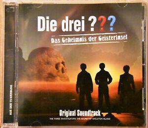 DIE DREI FRAGEZEICHEN (???) Das Geheimnis der Geisterinsel CD Soundtrack KULT!!!