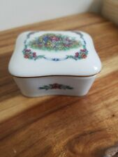 Vintage Heritage house Music Trinket Box -The Worlds Favorite Love Songs