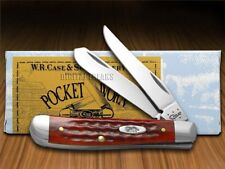CASE XX Jigged Old Red Bone Pocket Worn Mini Trapper Stainless 784 Pocket Knife