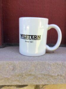 VINTAGE NOS COFFEE MUG #011- Western Extreminator Company Since 1921