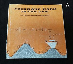 Vintage 1st Ed 1964 Pooke and Kark in the Ark by Sekiya Miyoshi Japan Noah's Ark
