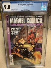 Marvel Comics Presents #6 CGC 9.8 1ST APP  WOLVERINE'S DAUGHTER RIEN  Deadpool