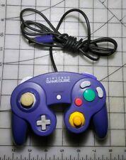 Nintendo GameCube Controller Indigo Purple Clear Official OEM DOL-003
