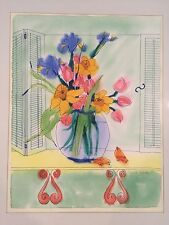 Babette Eddleston Original Signed Watercolor