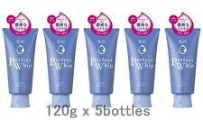 Lot5! Shiseido Senka Perfect Whip n 120g x 5 bottles, Face Wash Cleansing foam