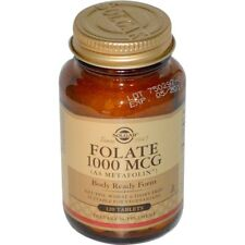 NEW SOLGAR FOLATE AS METAFOLIN HEART HEALTHY VEGETARIAN GLUTEN FREE BODY HEALTH