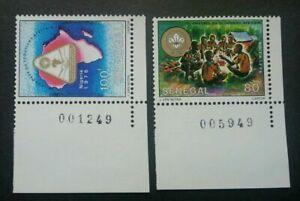[SJ] Senegal 1st All Africa Scout Jamboree 1976 Scouting Camping (stamp) MNH