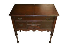 Antique Mahogany Flip Top Bar, Server, Pop Up Bar, Cabinet 31″W, PA4696