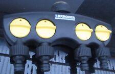 Kärcher 4-Wege-Hahnanschluss, Verteiler 2.645-012.0 Wasserverteiler Aufsatz